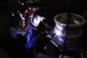 Alluminium wheel repair